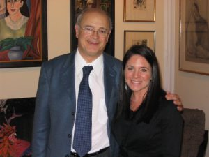 Lara with mentor Dr. Stefano Guandalini - Founder and Medical Director, University of Chicago Celiac Disease Center